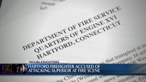 [HAR] Firefighter Accused of Attacking Superior