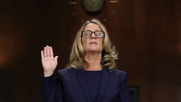 [NATL] Top News Photos: Ford, Kavanaugh Testify Before Senate Judiciary Committee
