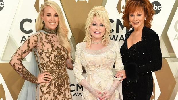 [NATL]Stars Light Up the 2019 CMA Awards Red Carpet