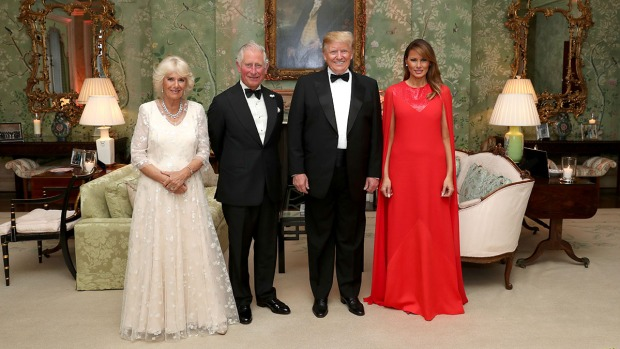 Melania Trump's Style During UK State Visit