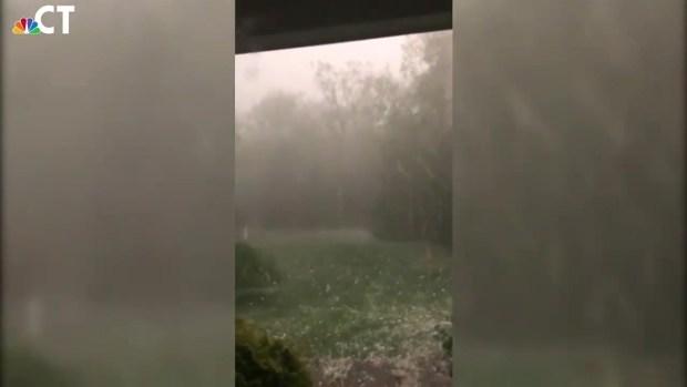 Granby Hail Video