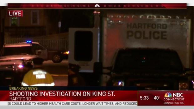 [HAR] Hartford Police Investigate Shooting on King Street