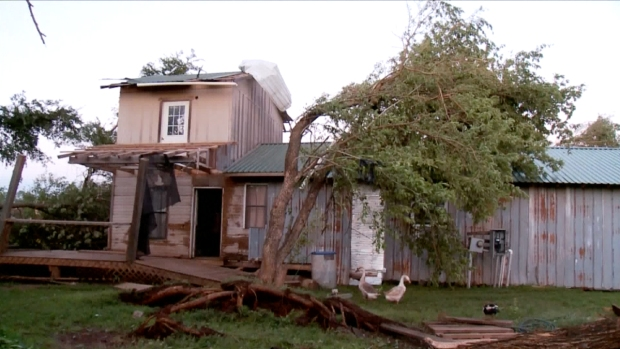 [NATL] 'This Is Gonna Be My Time': Oklahoma Tornado Survivor