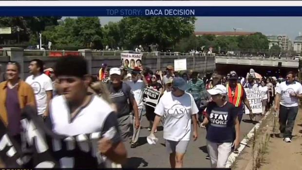 [NATL-DC] Hundreds Protest in D.C. Streets Over DACA