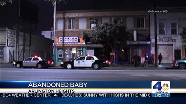 [LA] Mother in Custody After Child is Abandoned