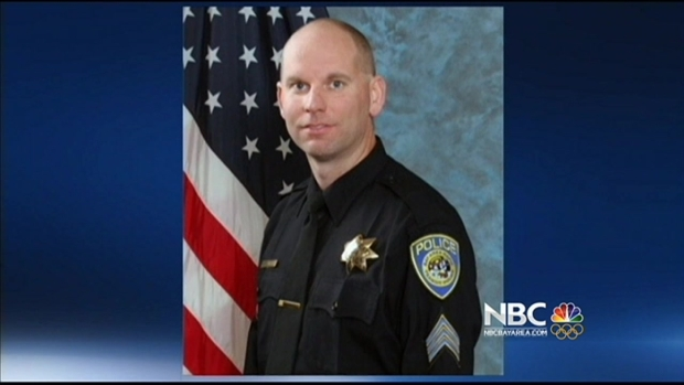 [BAY] Funeral Services for Slain BART Officer Killed by Friendly Fire