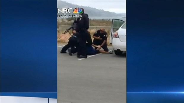 [BAY] RAW VIDEO: San Francisco Police Arrest Ryan Chamberlain in San Francisco