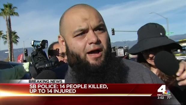 [NATL-LA] Husband Reacts to Mass San Bernardino Shooting