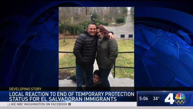 [NATL-DC]Maryland Man Fears for Family's Future After TPS Announcement