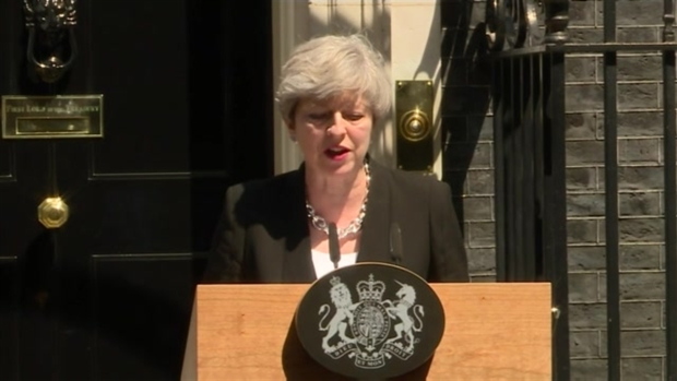 [NATL] 'We Will Stop at Nothing to Defeat Extremism,' British Prime Minister Theresa May Says