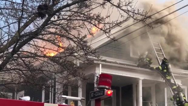 [HAR] Meriden House Fire