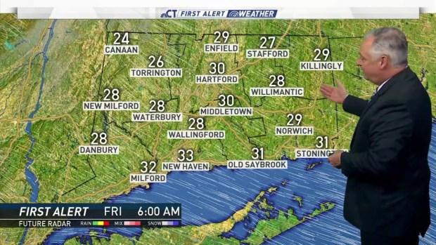 [HAR] Morning Forecast for Nov. 28