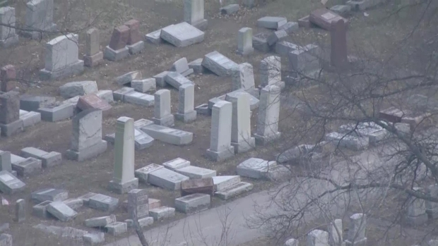 [NATL] Headstones Toppled at Missouri Jewish Cemetery
