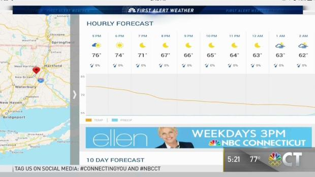 Download the NBC CT App for Your Exclusive First Alert Weather