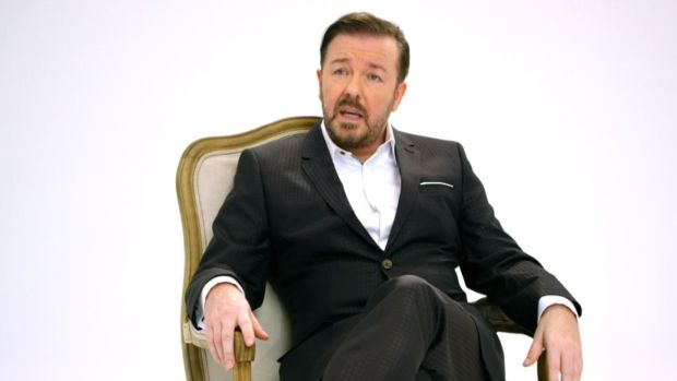 [NATL] Gervais Talks Hosting Golden Globes for Fourth Time