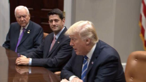 [NATL] Trump, Lawmakers Push Agendas for Tax Reform