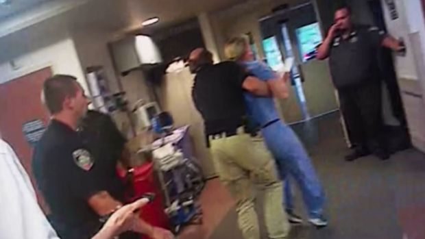 [NATL] Cop's Troubling Arrest of Utah Nurse Caught on Camera