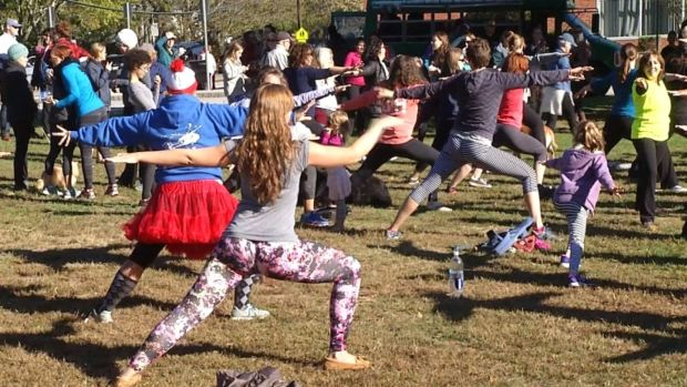 [NATL] Yoga Pants Parade Protests Op-Ed in Rhode Island
