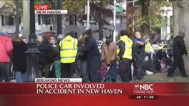 [HAR] Several Hospitalized After Cruiser, CT Transit Bus Crash
