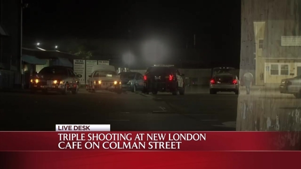 [HAR] New London Police Investigate Triple Shooting
