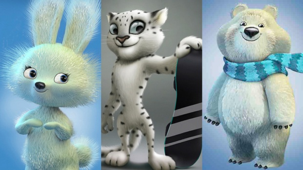 [NATL] Olympic Mascots: The Cute and the Weird