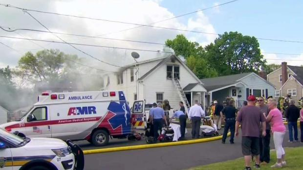 [HAR] One Taken to Burn Unit After Plainville House Fire