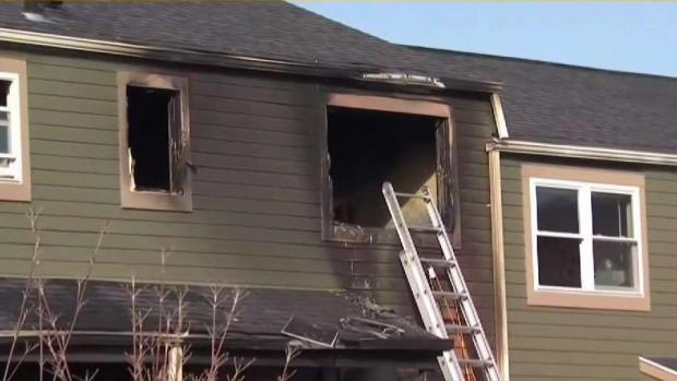 [HAR] Officials Say Woman Died in Groton Fire