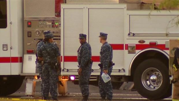 [DGO] Officials Investigate Military Plane Crash