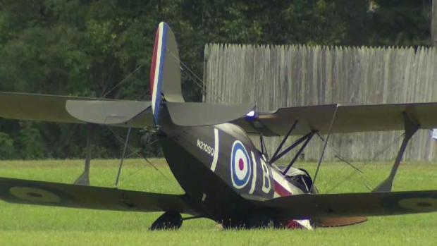 [HAR] Plane Makes Hard Landing in Guilford