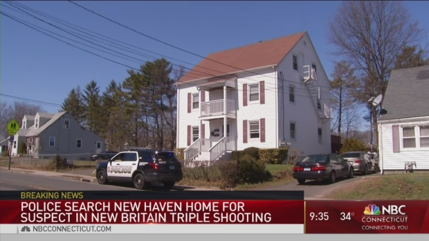 [HAR] Police Search for New Britain Triple Shooting Suspect in New Haven