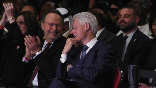 [DGO] Rabbi Makes President, Billy Crystal Laugh at Muhammad Ali's Service