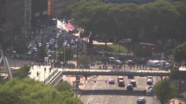 [HAR] Protestors Disrupt Hartford Commute