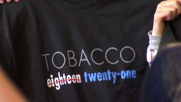 [HAR] Push at State Capitol to Raise Tobacco Age