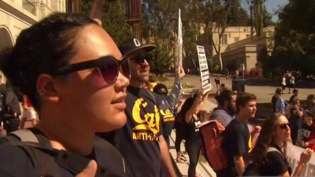 [NATL-BAY] 'Rally Against White Supremacy' Takes to Berkeley Streets