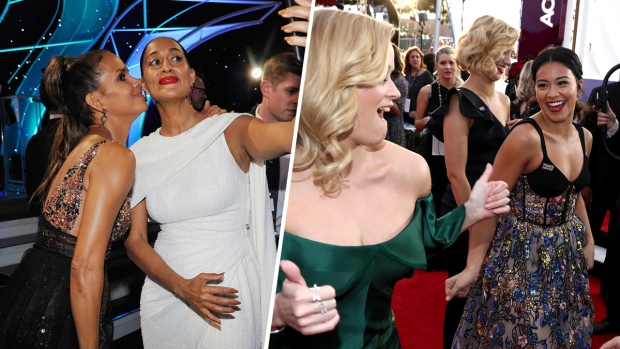 [NATL]Photos: The Best Moments From 2018 SAG Awards