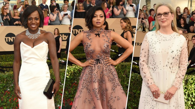 [NATL] 2017 SAG Awards Red Carpet Looks