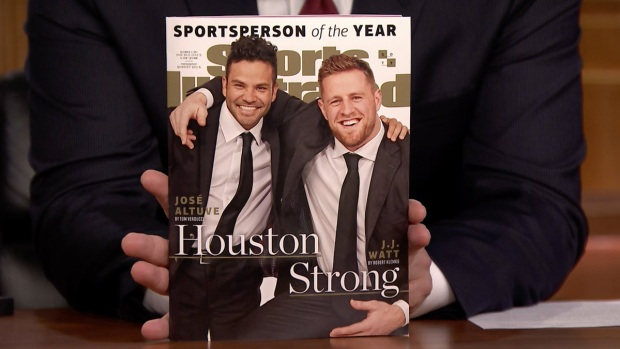 Tonight: Jimmy Fallon Reveals JJ Watt Is Sports Illustrated's 2017 Sportsperson of the Year