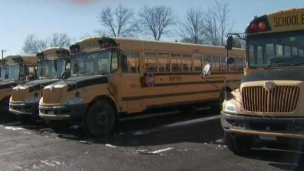 School Bus Companies Prepare For Brutal Cold