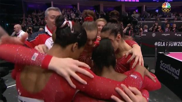 [NATL] US Women's Gymnastics Team Hopes to Make History