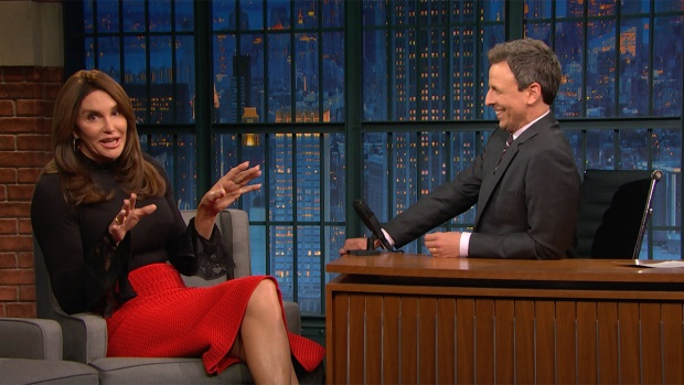 [NATL] 'Late Night': Caitlyn Jenner Defends Her Vote for Trump