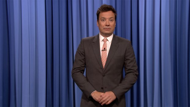 [NATL] 'Tonight': Fallon, Transgender Comedian Talk Trump Military Ban
