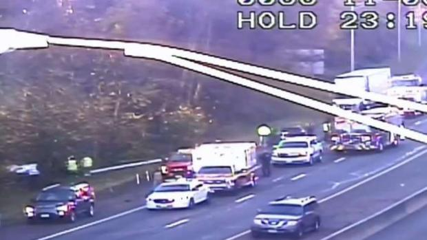 [HAR] Serious Crash Closes 95 in Branford