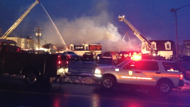 [HAR] Fire, Building Collapse in Shelton
