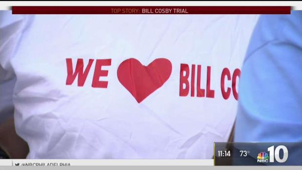 [PHI] Spectators Outside the Cosby Trial Hope For Verdict