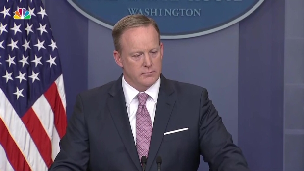 [NATL] Spicer Provides Little Information on Whether Trump Recorded FBI's Comey