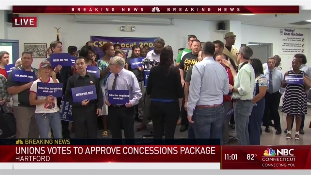 [HAR] State Union Employees Vote in Favor of Concessions Deal