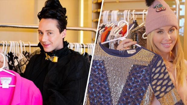 [NATL] Take a Peek Inside Tara's and Johnny's Olympic Hotel Wardrobes