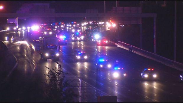 [HAR] Trooper Struck By Car on I-91 In Hartford