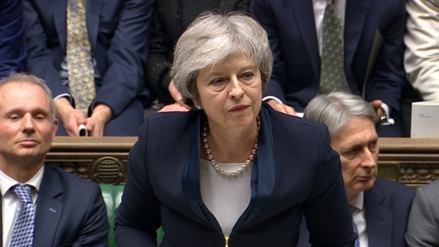 [NATL] British Parliament Strikes Down May's Brexit Deal