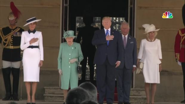[NATL] Trump Meets Queen Elizabeth During UK State Visit